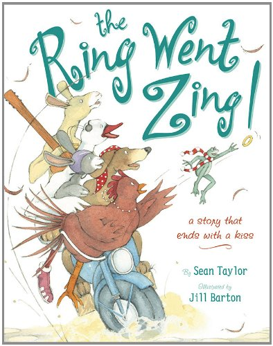 9780803733114: The Ring Went Zing!: A Story That Ends With a Kiss