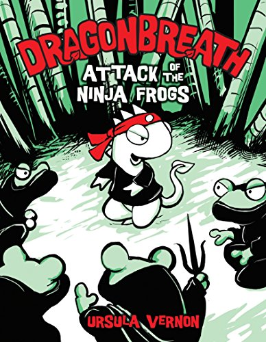 9780803733657: Dragonbreath #2: Attack of the Ninja Frogs