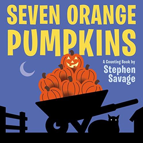 9780803741386: Seven Orange Pumpkins board book