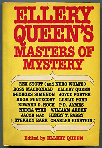 Ellery Queen's masters of mystery (Ellery Queen's anthology): Queen, Ellery
