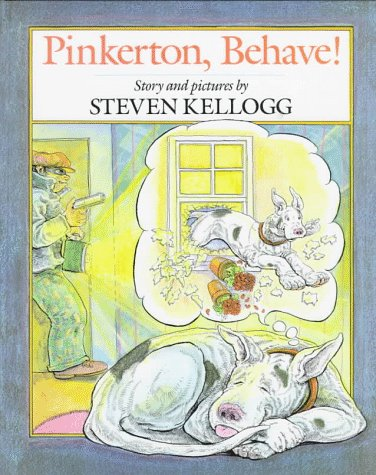 Pinkerton, Behave! plus free Gustav the Gourmet: Kellogg, Steven