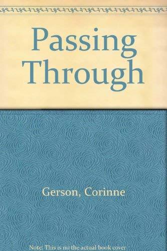 Passing Through: Gerson