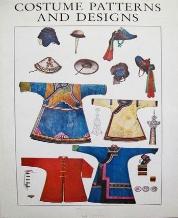 9780803811911: Costume Patterns and Designs: A Survey of Costume Patterns and Designs of All Periods and Nations from Antiquity to Modern Times