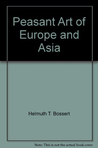 9780803858183: Peasant Art of Europe and Asia