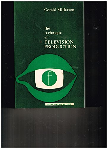 9780803871243: The Technique of Television Production