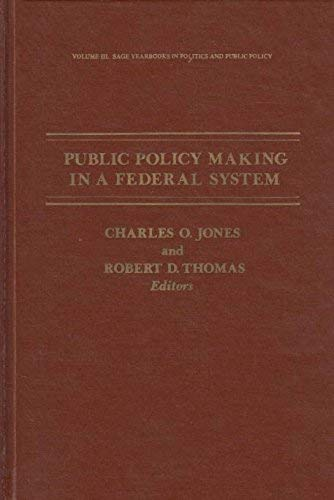 9780803903494: Public Policy Making in a Federal System