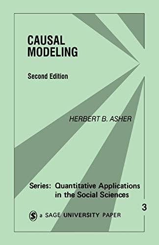 CAUSAL MODELING: ASHER,HERBERT B