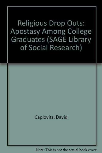 SAGE Library of Social Research Ser The: David Caplovitz