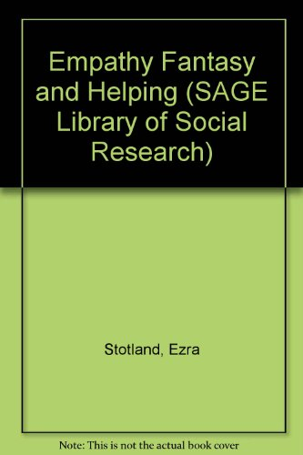 9780803909830: Empathy Fantasy and Helping (SAGE Library of Social Research)