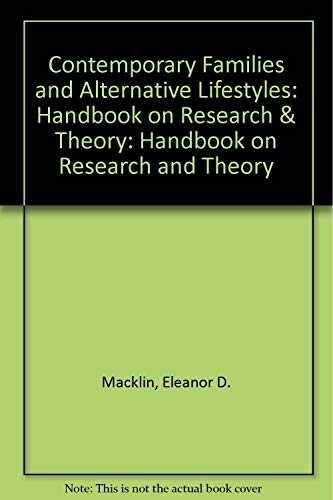 9780803910539: Contemporary Families and Alternative Lifestyles: Handbook on Research & Theory