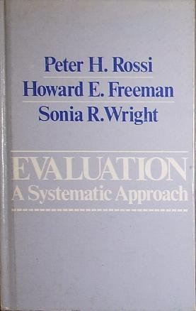 9780803911796: Evaluation: A Systematic Approach