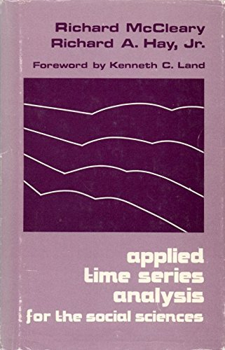 9780803912052: Applied Time Series Analysis for the Social Sciences