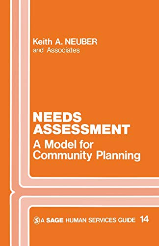 Needs Assessment : A Model for Community: Keith A. Neuber