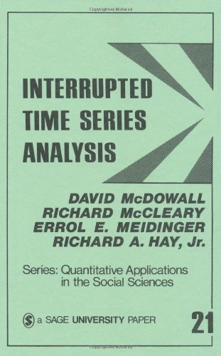 Interrupted Time Series Analysis: McDowall, David; et. al.