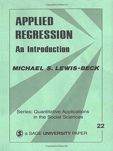 9780803914940: Applied Regression: An Introduction (Quantitative Applications in the Social Sciences)