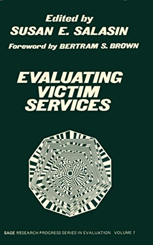 9780803915251: Evaluating Victim Services (SAGE Research Progress Series in Evaluation)