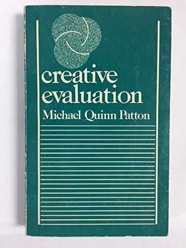 9780803915909: Creative Evaluation