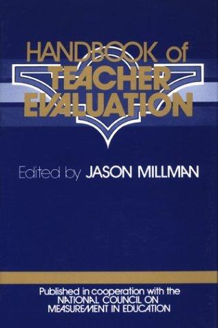 9780803915978: Handbook of Teacher Evaluation
