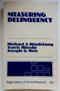 9780803915992: Measuring Delinquency