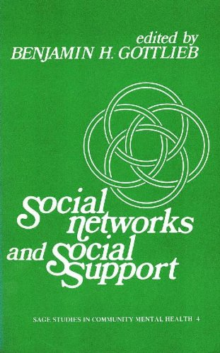 9780803916708: Social Networks & Social Support (Sage Studies in Community Mental Health)