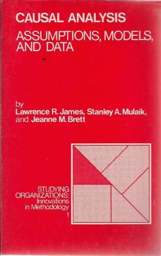 9780803918689: Causal Analysis: Assumptions, Models, and Data (Studying Organizations)