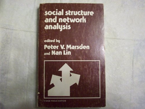 9780803918894: Social Structure and Network Analysis (SAGE Focus Editions)