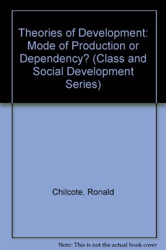 9780803919259: Theories of Development: Mode of Production or Dependency? (Class and Social Development Series)