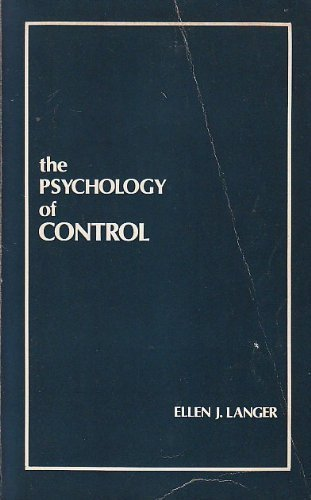 9780803919631: The Psychology of Control
