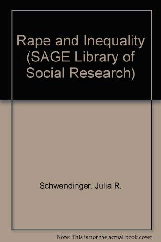 9780803919679: Rape and Inequality (SAGE Library of Social Research)