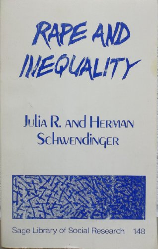 9780803919686: Rape and Inequality (SAGE Library of Social Research)