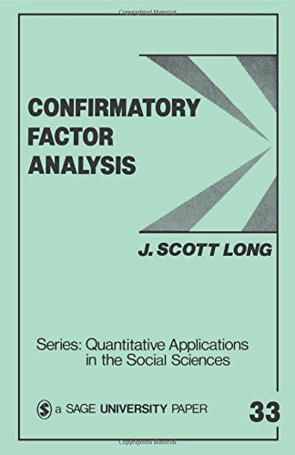 9780803920446: Confirmatory Factor Analysis: A Preface to LISREL (Quantitative Applications in the Social Sciences)