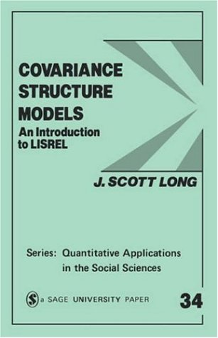 9780803920453: Covariance Structure Models: An Introduction to Lisrel (Quantitative Applications in the Social Sciences)