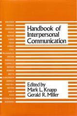 9780803921207: Handbook of Interpersonal Communication