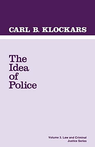 9780803921795: The Idea of Police