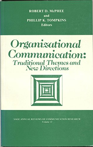 9780803921870: Organizational Communication: Traditional Themes and New Directions (SAGE Series in Communication Research)