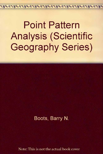 9780803922457: Point Pattern Analysis (Scientific Geography Series)