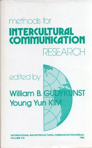 9780803922617: Methods for Intercultural Communication Research (International and Intercultural Communication Annual)