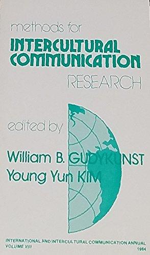 9780803922624: Methods for Intercultural Communication Research (International and Intercultural Communication Annual)
