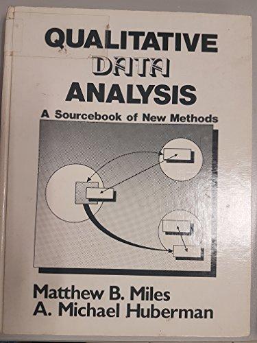 9780803922747: Qualitative Data Analysis: A Sourcebook of New Methods