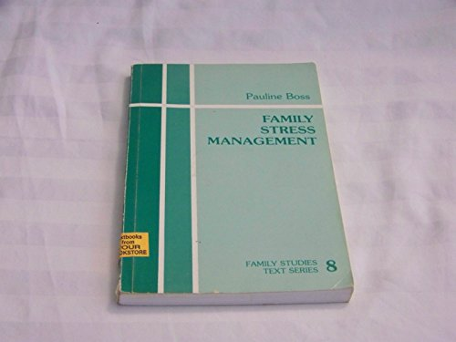 9780803923812: Family Stress Management (Family Studies Text series)
