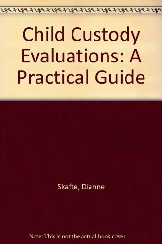 9780803924376: Child Custody Evaluations: A Practical Guide