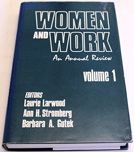 9780803924581: Women and Work: An Annual Review: Volume 1 (Women and Work: A Research and Policy Series)