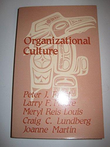9780803924604: Organizational Culture