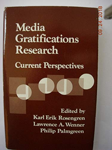 9780803924710: Media Gratifications Research: Current Perspectives