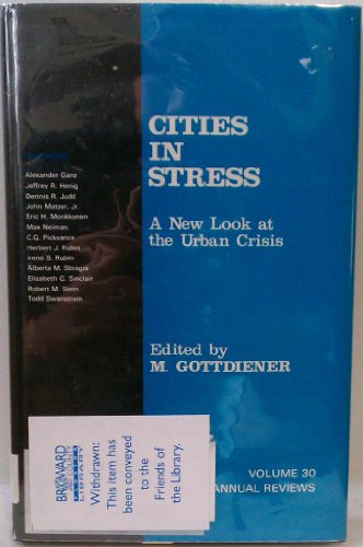 9780803925755: Cities in Stress: A New Look at the Urban Crisis (Urban Affairs Annual Reviews)