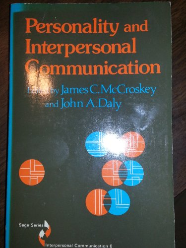 9780803926462: Personality and Interpersonal Communication (SAGE Series in Interpersonal Communication)