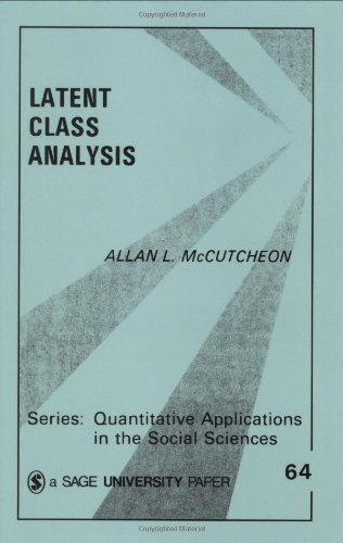 9780803927520: Latent Class Analysis (Quantitative Applications in the Social Sciences)
