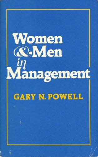 9780803927964: Women and Men in Management