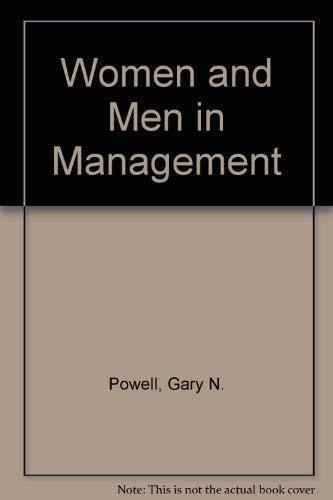 9780803927971: Women and Men in Management