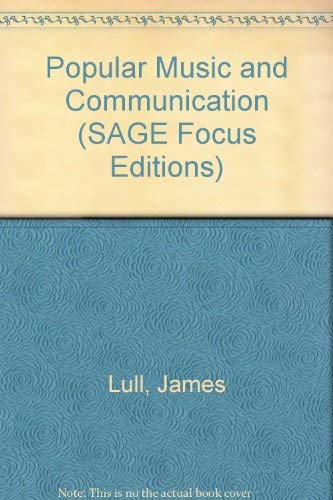 9780803928251: Popular Music and Communication (SAGE Focus Editions)